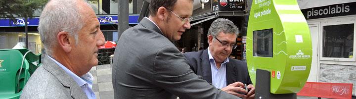 Murcia, pionera en la instalación del servicio gratuito de información al ciudadano y carga de móviles en la vía pública