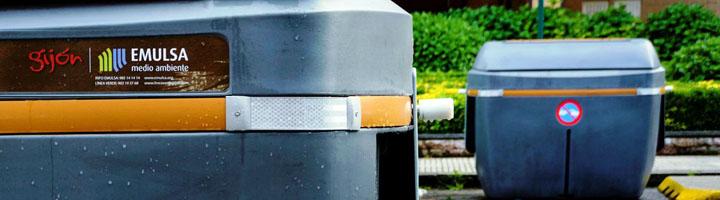 EMULSA amplía a cinco nuevas zonas de Gijón la recogida selectiva de residuos orgánicos