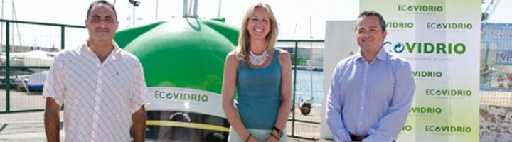 El Ayuntamiento de Gandia y Ecovidrio promueven el reciclado de envases de vidrio durante la temporada turística