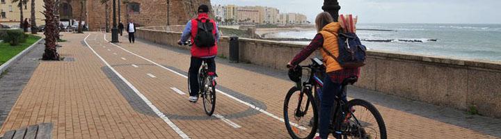 Cádiz comienza la construcción del carril bici en el Paseo Carlos III y la Avenida Doctor Gómez Ulla
