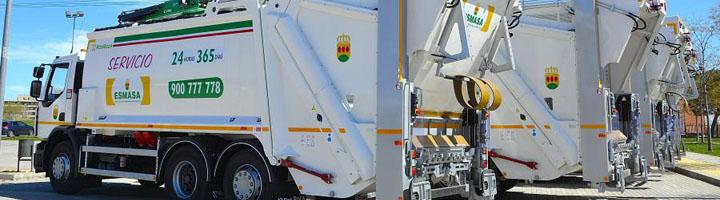 ESMASA invierte más de 3,6 millones en la compra de 25 vehículos para mejorar el servicio limpieza de Alcorcón