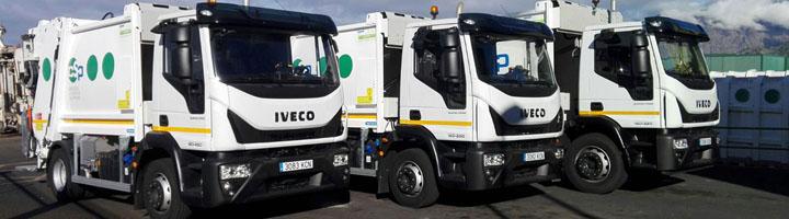 El Consorcio de Servicios de La Palma renueva su flota con la incorporación de tres vehículos para la recogida de residuos