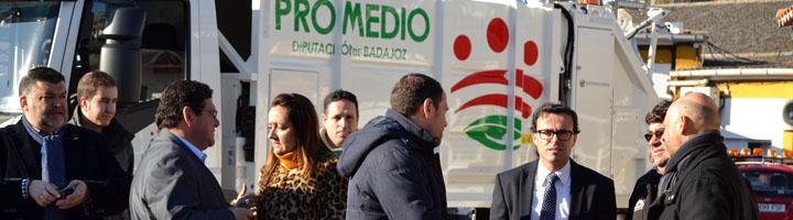 PROMEDIO invierte 400.000 euros en camiones y contenedores para mejorar la recogida de residuos urbanos
