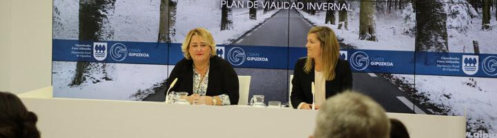 Arranca el Plan de Vialidad Invernal de Gipuzkoa