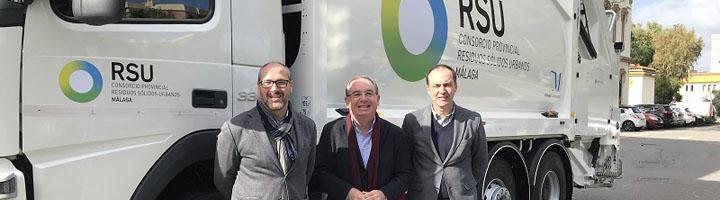 El Consorcio de Residuos de Málaga aumenta su flota de vehículos para mejorar la recogida de basura en la provincia