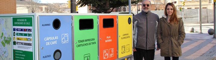 Barbastro quiere fomentar el reciclaje de residuos con el nuevo punto limpio móvil