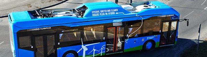 ABB y Volvo desarrollan buses eléctricos e híbridos de carga ultra rápida