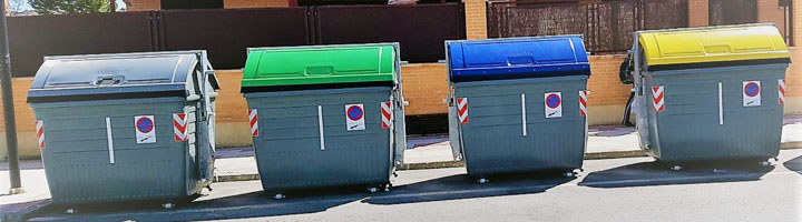 Guadalajara cuenta ya con contenedores metálicos de carga lateral de la firma Sanimobel