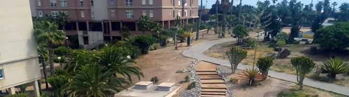 Las Palmas invierte 115.000 euros en la rehabilitación y mejora de tres parques en el barrio de Siete Palmas