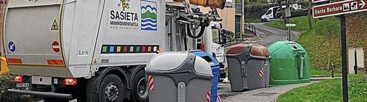 La recogida de residuos del año 2018 alcanzó el 76% en la Mancomunidad Sasieta