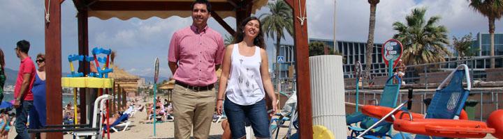 Las playas de Palma de Mallorca ya disponen de seis puntos accesibles