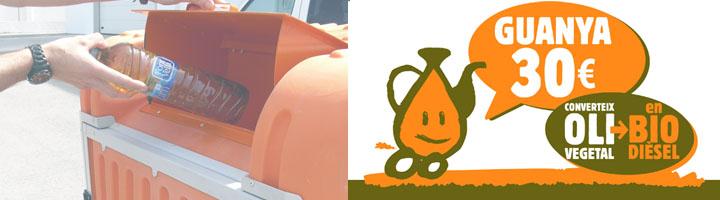 Campaña 2014 para el fomento del reciclaje del aceite vegetal usado en Menorca