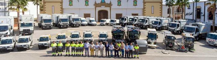 Estepona  renueva la flota y maquinaria de limpieza con una inversión de 3,7 millones de euros