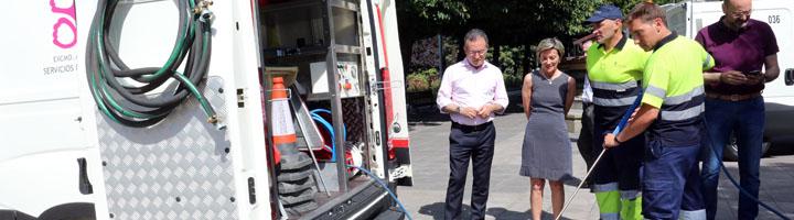 León adquiere material especializado en limpieza de pintadas y grafitis para mobiliario urbano y edificios municipales