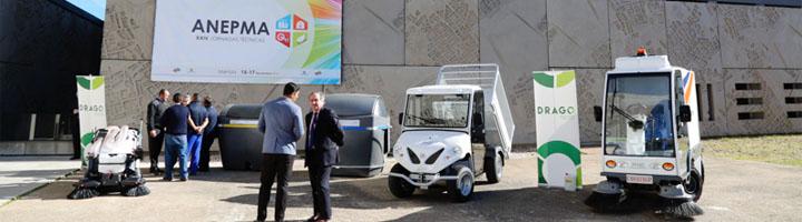 Drago presenta Electra 2.0 en las XXIV Jornadas ANEPMA, la primera barredora del mercado 100% eléctrica
