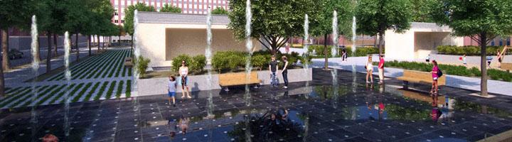Salamanca presenta un nuevo diseño del Parque de Garrido con una pista polideportiva y 3.000 m2 de zonas verdes