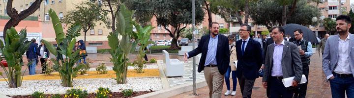 Murcia realiza obras de renovación de las áreas verdes del barrio del Infante