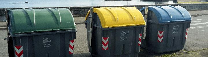 Concello de Riveira instala los contenedores de carga lateral de CONTENUR