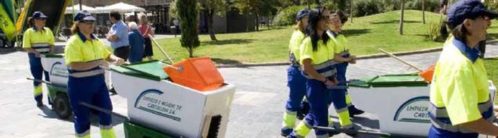 Se contiene el presupuesto en limpieza viaria de Murcia ampliando servicios