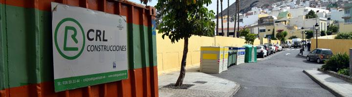 Comienzan los trabajos de instalación de contenedores soterrados en la zona comercial abierta de Gáldar