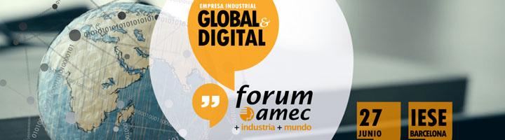 Más de 300 directivos abordan cómo hacer frente a la transformación digital de la industria internacionalizada en el Fórum amec