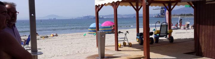 San Roque adquiere nuevo material para mejorar el equipamiento para los bañistas