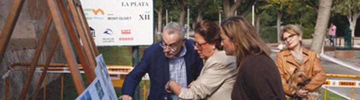 Valencia comienza las obras para completar los 14 Km de carril bici en el Jardín del Turia