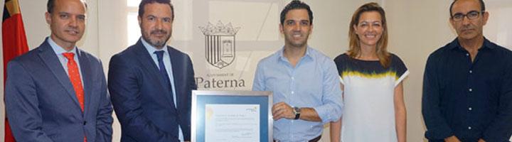 Paterna obtiene el certificado de energía verde por usar electricidad 100% renovable