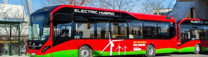 Estocolmo cuenta con el primer sistema de carga ultra rápida para autobuses híbridos