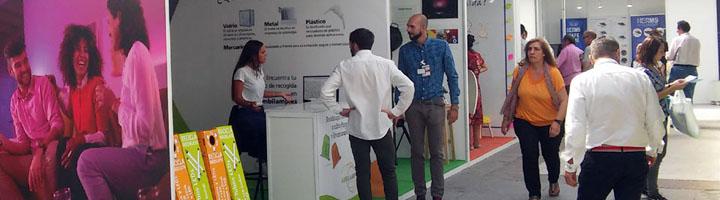 AMBILAMP fomenta el reciclaje de lámparas en Rehabitar Madrid