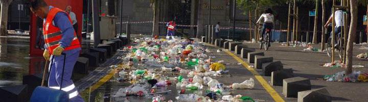 Santa Cruz de Tenerife invertirá 21 millones anuales en limpieza durante los próximos años