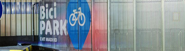 EMT lanza BiciPARK, un sistema para estacionar bicicletas en su red de aparcamientos