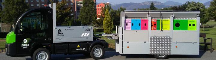 Bilbao pone en marcha un nuevo servicio de reciclaje, a través de Bilbogarbis móviles por la ciudad