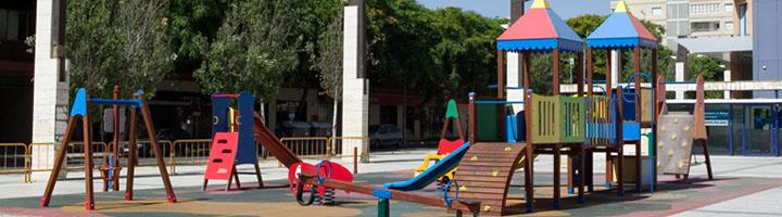 Málaga inicia la mejora de 14 parques infantiles