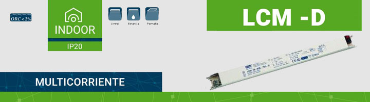 ELT lanza la familia LCM -D, sus nuevos drivers multicorriente