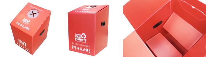 DS Smith Tecnicarton y la Fundación Eco Raee's desarrollan un contenedor para reciclar bombillas