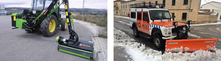 RODA Maquinaria presentará sus últimas novedades en Municipalia 2015