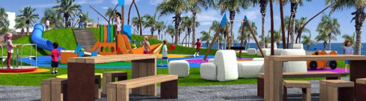 El Cabildo de Gran Canaria creará una zona recreativa y deportiva en el entorno de la plaza del Paseo de Las Salinas