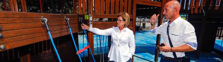 Las Palmas de Gran Canaria pone en marcha el nuevo contrato que mejora el mantenimiento de los 130 parques infantiles