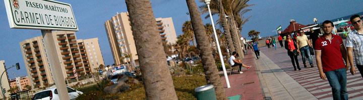 Almería inicia la mejora de la iluminación del Paseo Marítimo y remodelación del Parque de las Tormentas