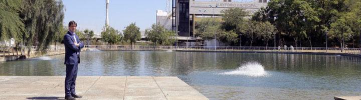 Sevilla reabre el Jardín Americano tras la recuperación de su lago y cascadas y la ejecución de podas y desbroces