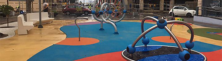 Melilla cuenta con un nuevo parque infantil en el barrio del Industrial
