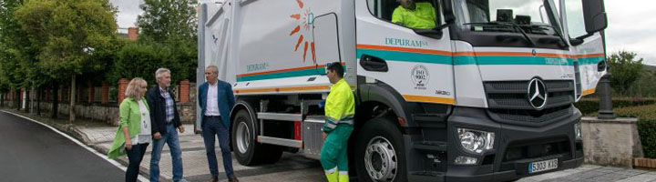 Polanco incorpora un sistema de pesaje y control telemático de incidencia en la recogida de residuos