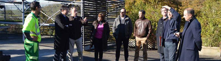 Una delegación de Cascais conoce el servicio de limpieza y el mantenimiento de parques y jardines del Ayuntamiento de Oviedo