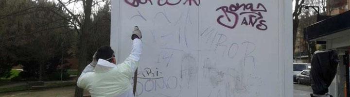 Guadalajara se propone reducir el número de graffitis