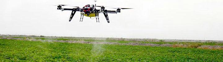 Estudian aplicar el uso de drones para controlar el crecimiento de zonas verdes en entornos urbanos