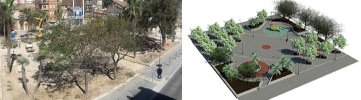 Valencia arranca la reurbanización de la Plaza Llorenç de la Flor, en el barrio del Cabanyal
