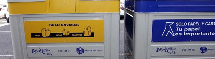 El Cabildo de Lanzarote mejorará la contenerización, y el servicio de recogida de envases ligeros y papel-cartón