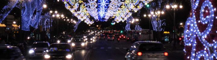 Murcia iluminará más de 40 calles con luces led en las próximas fiestas de Navidad