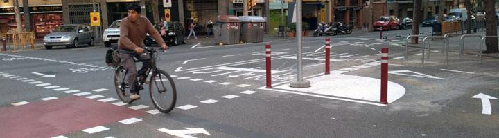 La red de carriles bici de Barcelona se amplía con cinco nuevos carriles